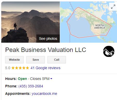 Google My Business Peak 2