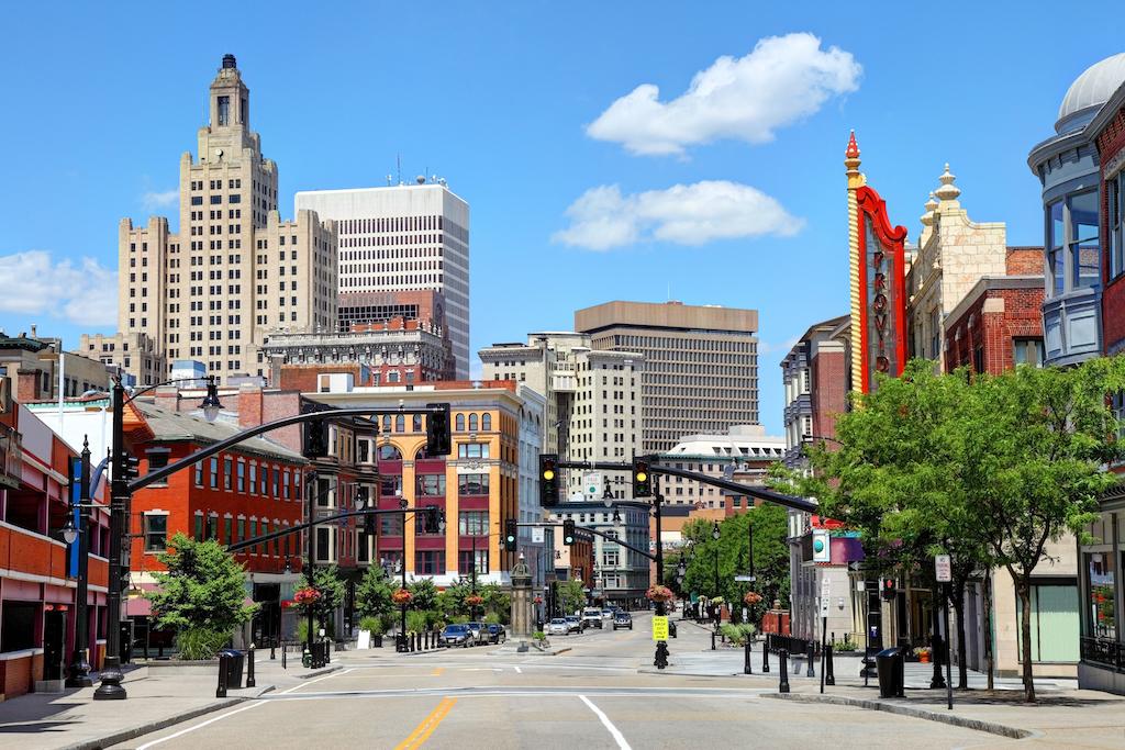Downtown Providence Rhode Island