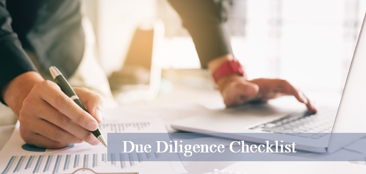 Due Diligence Checklist: Buying a Business