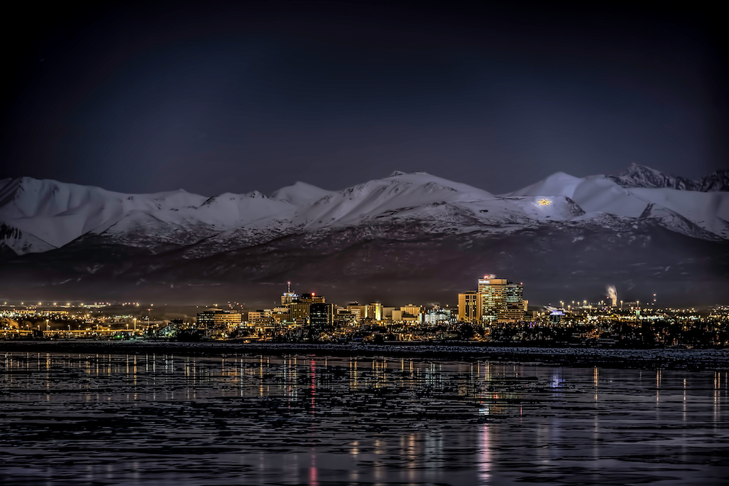 Anchorage At Night