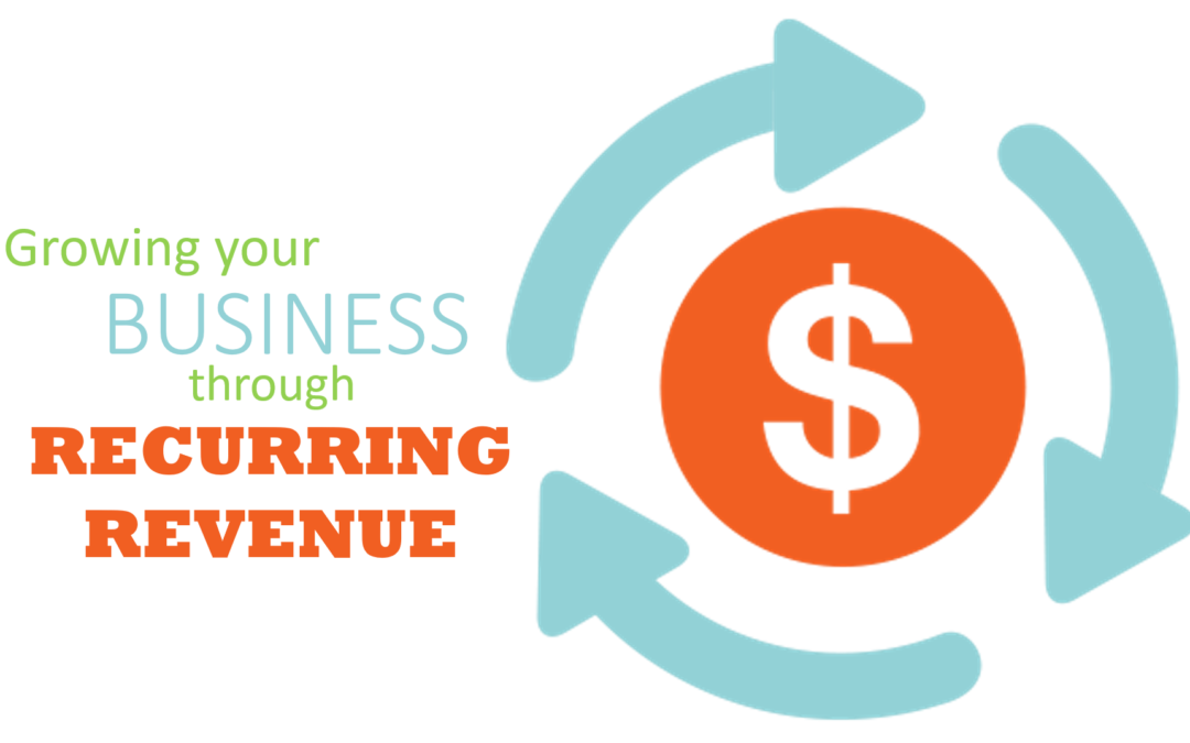 Growing your Business through Recurring Revenue